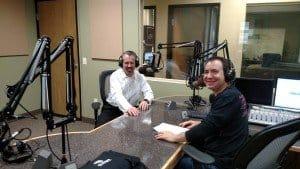 Michael Peters and David Cogan as heard on Money Radio