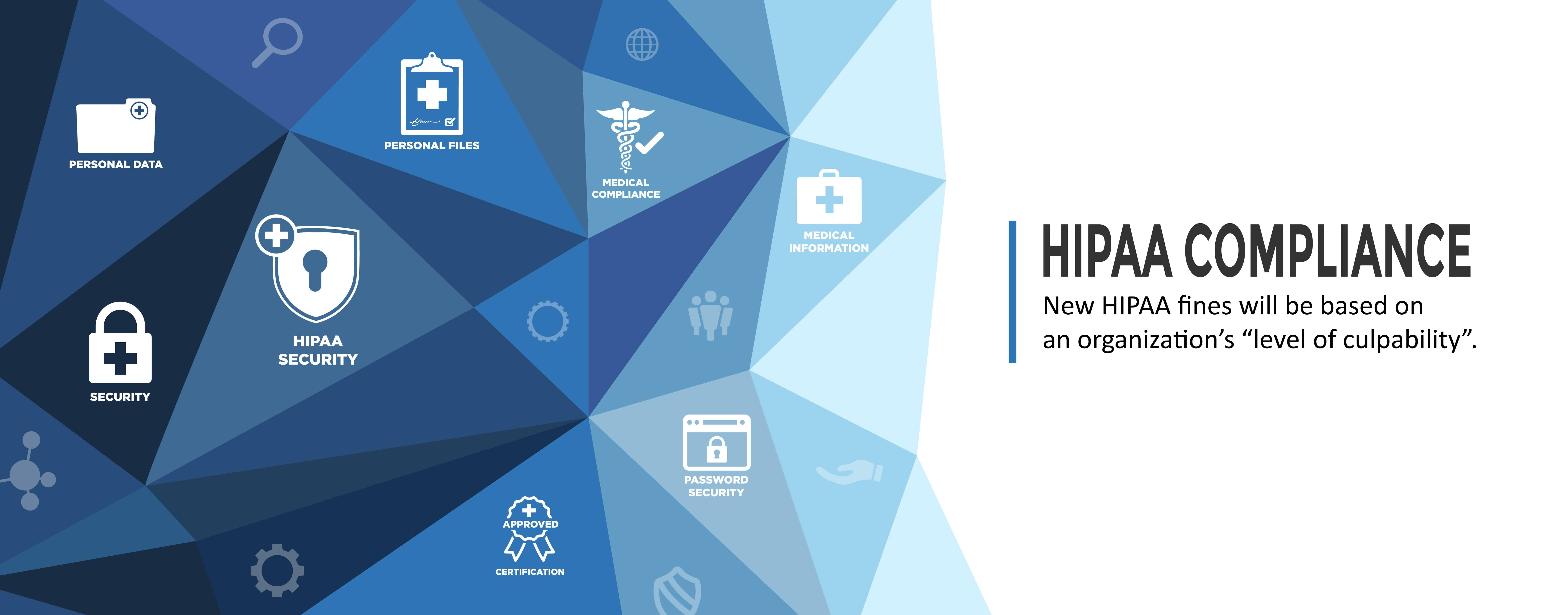 """New HIPAA fines will be based on an organization's """"level of culpability""""."""
